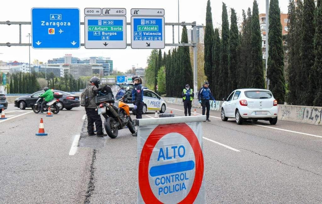 Aantal boetes en arrestaties neemt toe tijdens noodtoestand Spanje