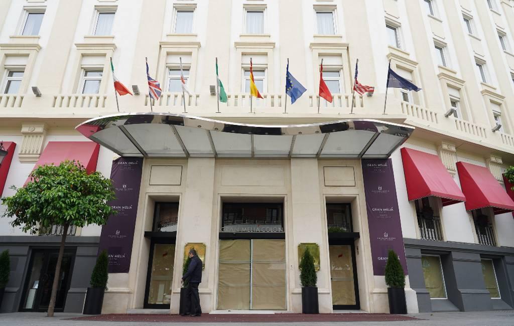 Regering Spanje spreekt verplichte sluiting hotels vanaf 24 maart tegen