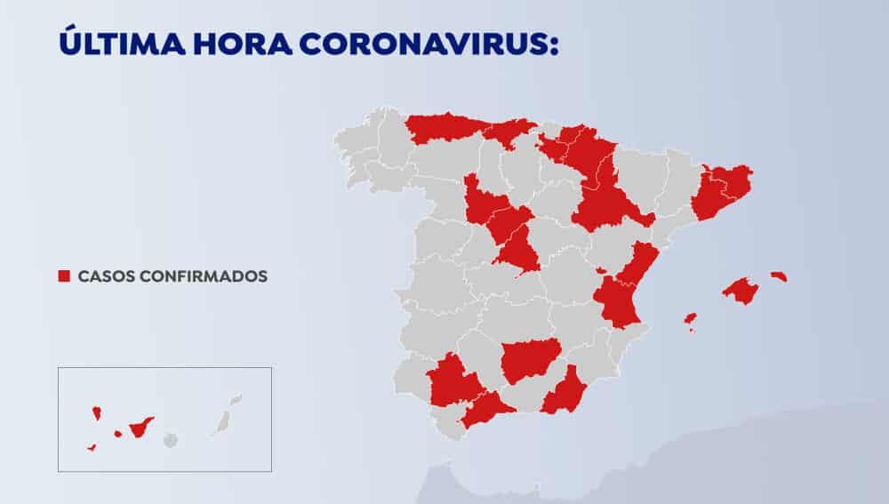 UPDATE 4: coronavirus besmettingen in Spanje stijgt naar 79