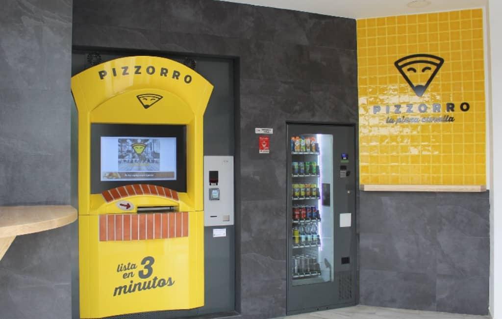 Verse pizza's uit de muur trekken nu mogelijk in Málaga