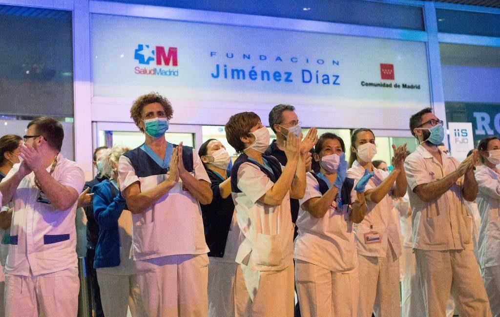 Ook het aantal herstelde corona-patiënten stijgt in Spanje