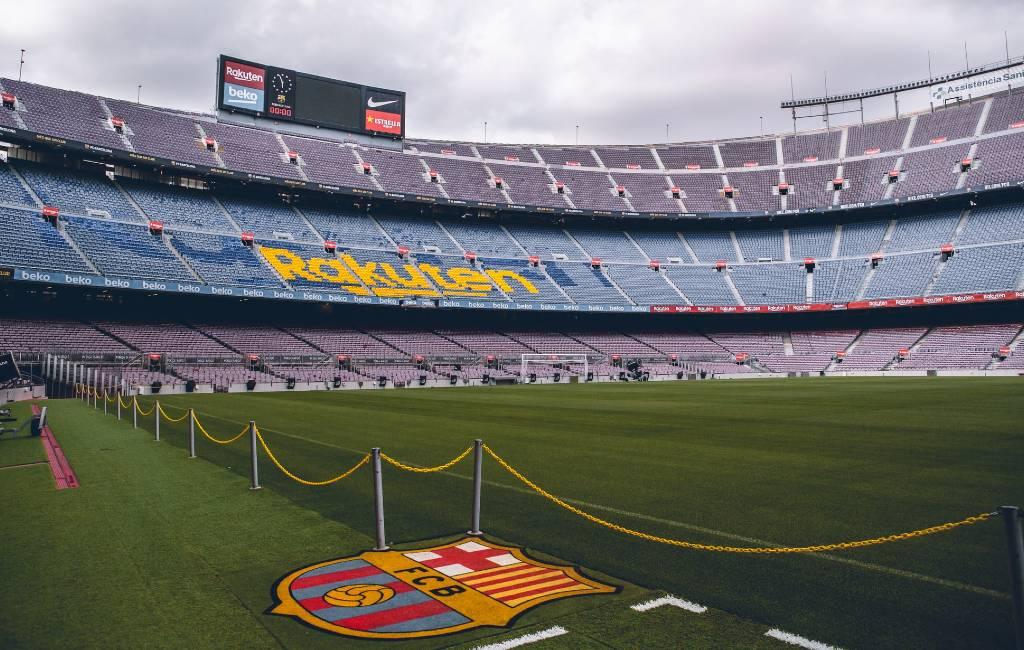 Champions League wedstrijd FC Barcelona-Napoli zonder publiek?