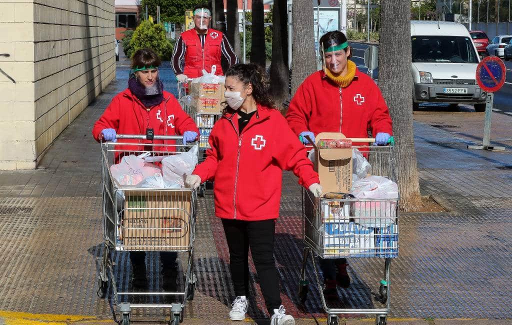Nederlands/Belgisch initiatief om Rode Kruis Spanje te helpen tijdens corona-crisis