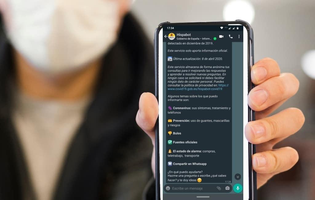 Spaanse regering beantwoord corona-vragen via WhatsApp