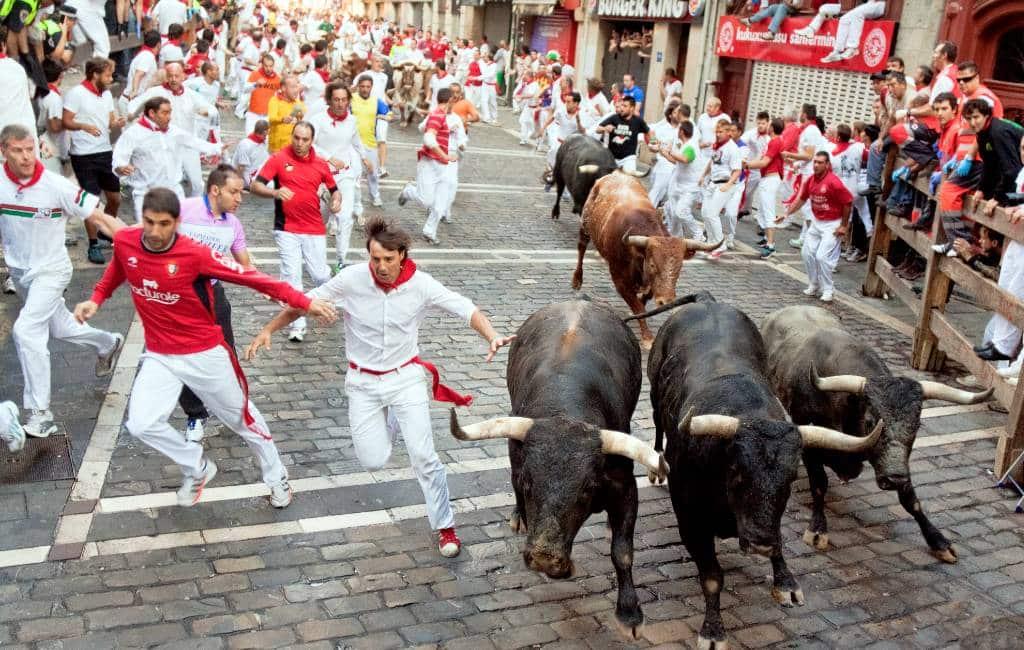 Stierenrennen Pamplona gaan niet door wegens corona-crisis