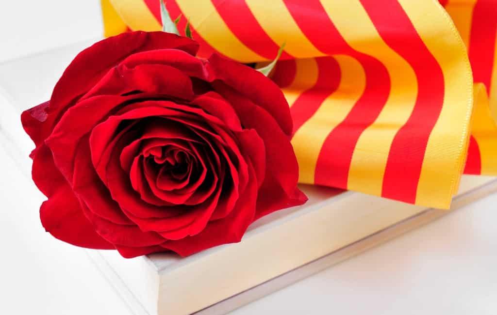 Vreemdste 23 april en Sant Jordi feest ooit in Catalonië