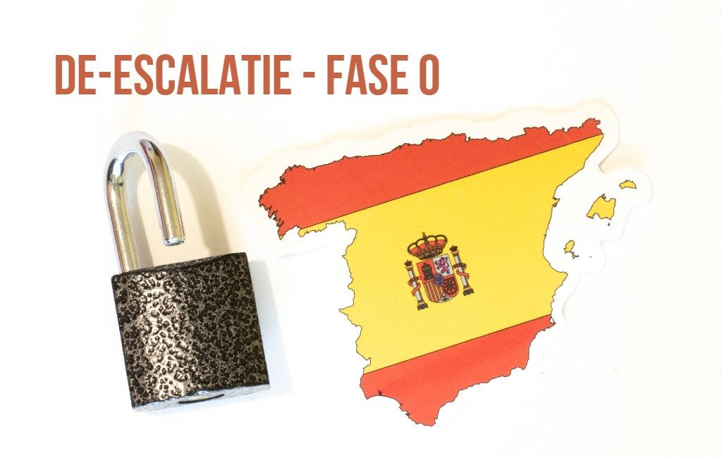 Start van fase 0 in het 4 fasen-plan naar het 'nieuwe normaal' in Spanje