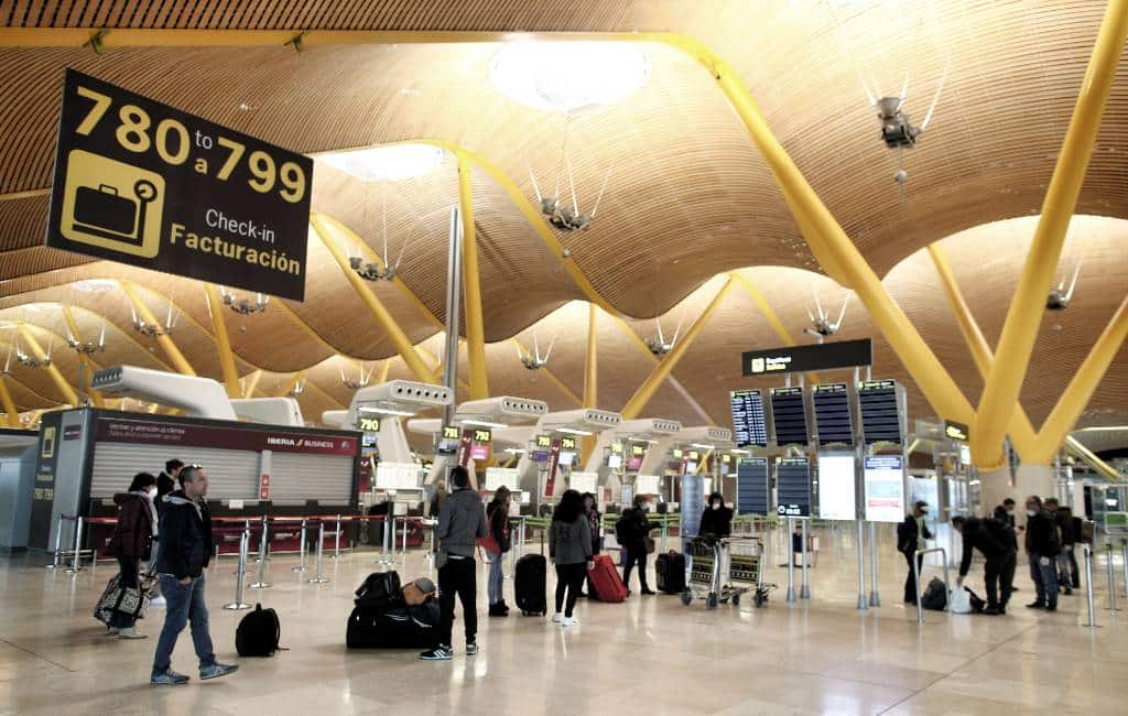 Slechts vijf vliegvelden open tijdens de de-escalatiefasen in Spanje