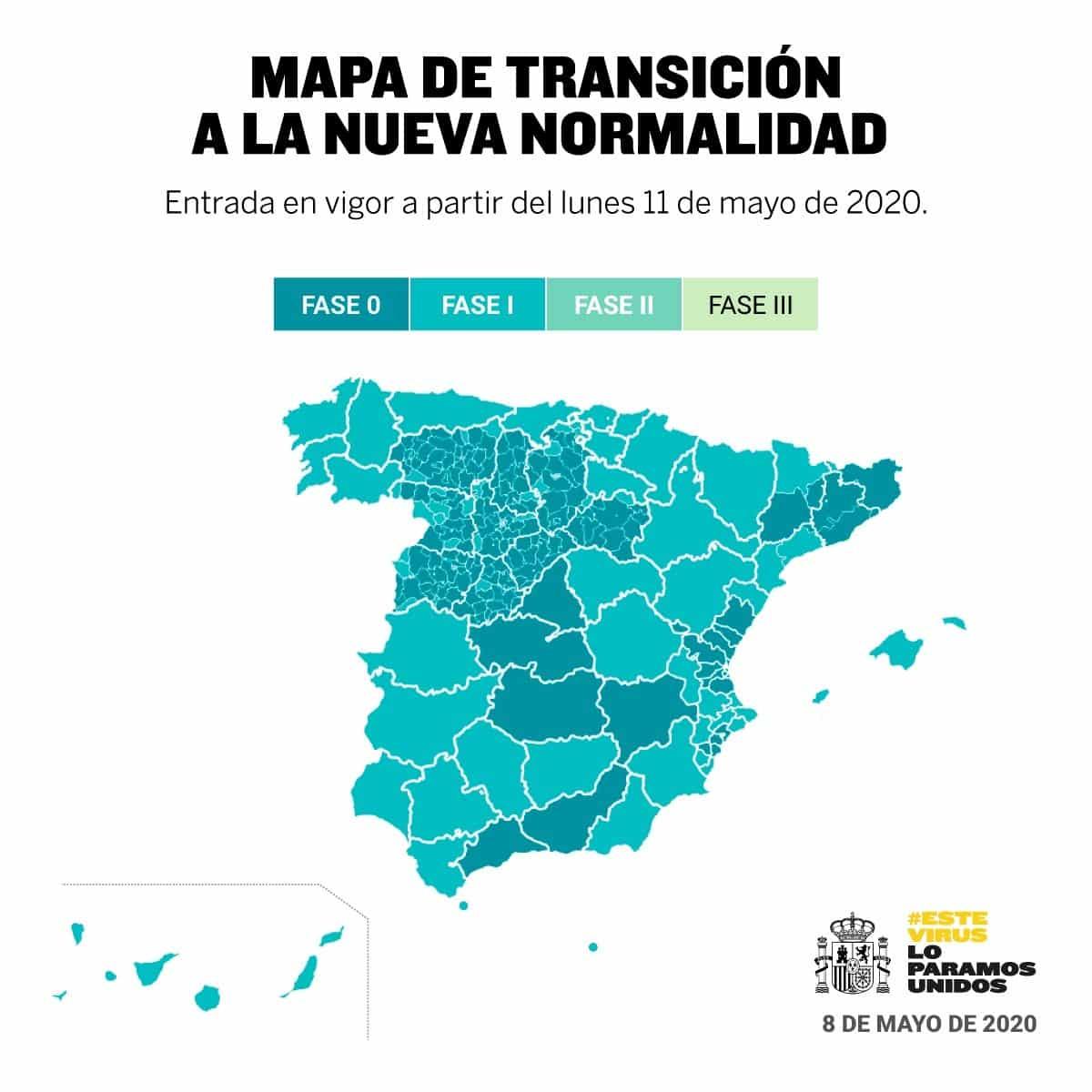 Gaan Andalusië, Valencia en Madrid naar Fase 1 op 18 mei?