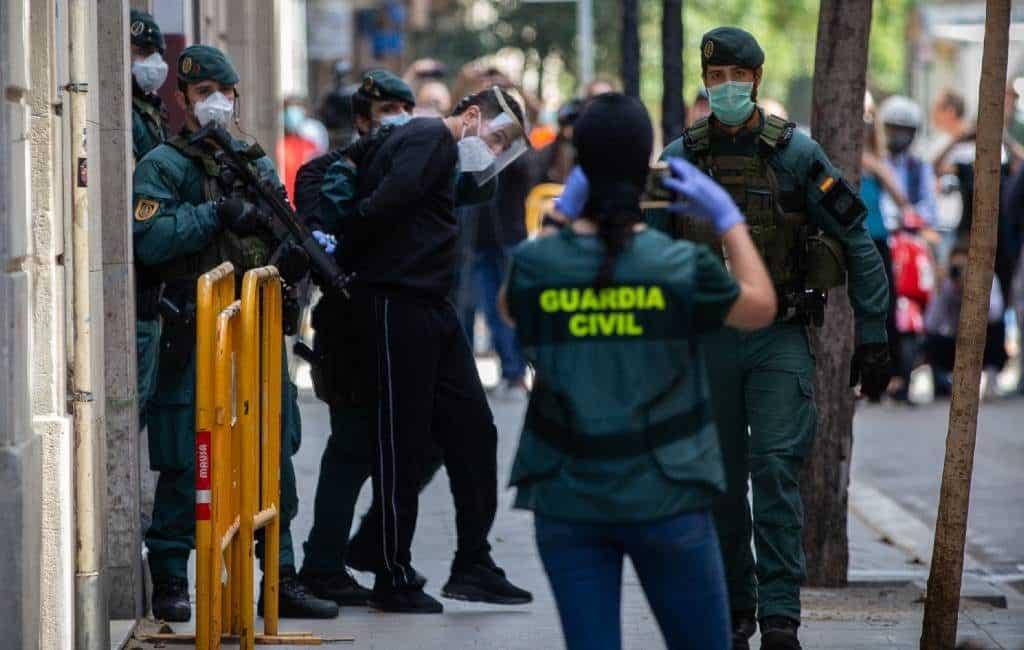 Vermoedelijke IS-terrorist in Barcelona gearresteerd