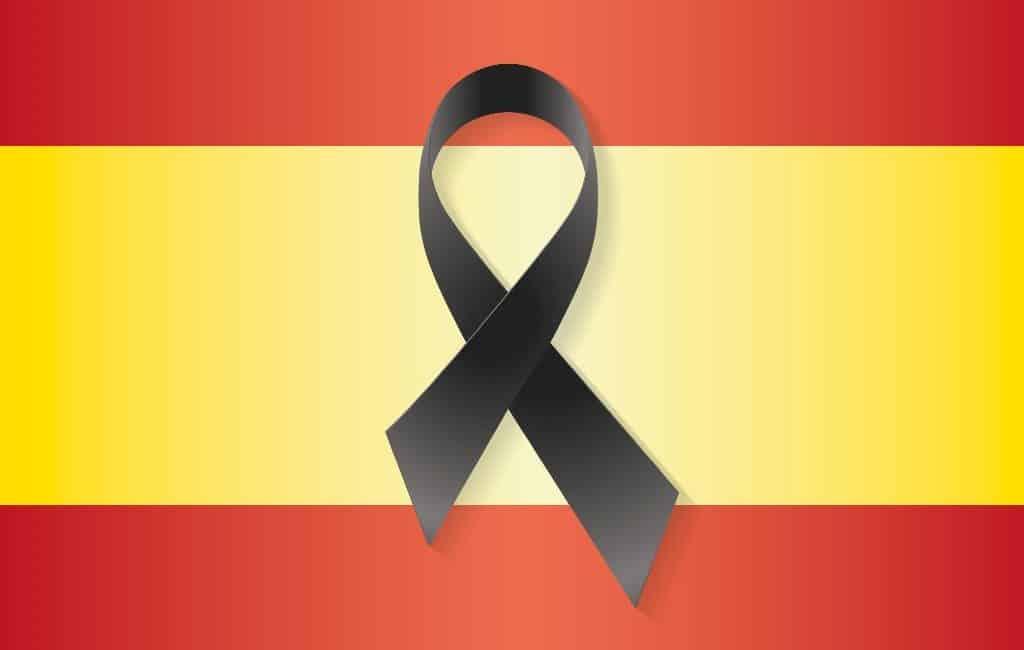 Nationale rouwperiode van 10 dagen voor corona-slachtoffers in Spanje