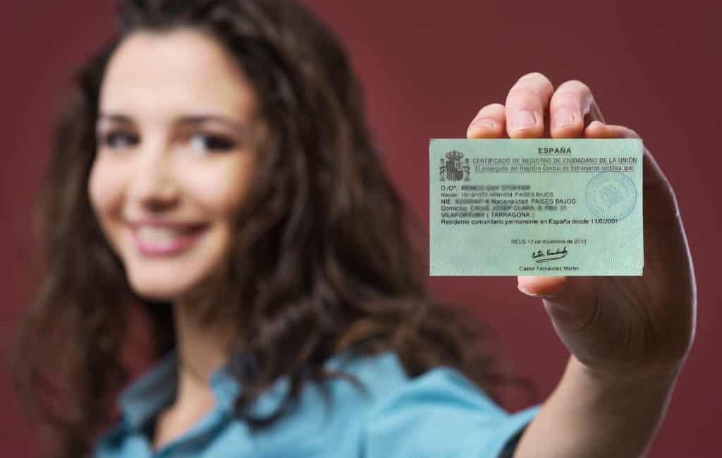 Verschil tussen een NIE-nummer, empadronamiento en tarjeta residencia in Spanje