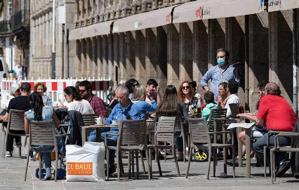 Alle terrassen Costa Blanca en Costa del Sol weer open in Fase 1