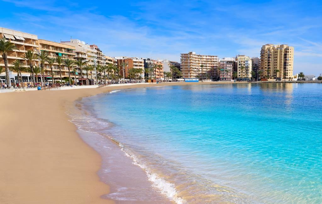 Stranden Torrevieja, Benidorm en Alicante gedeeltelijk open