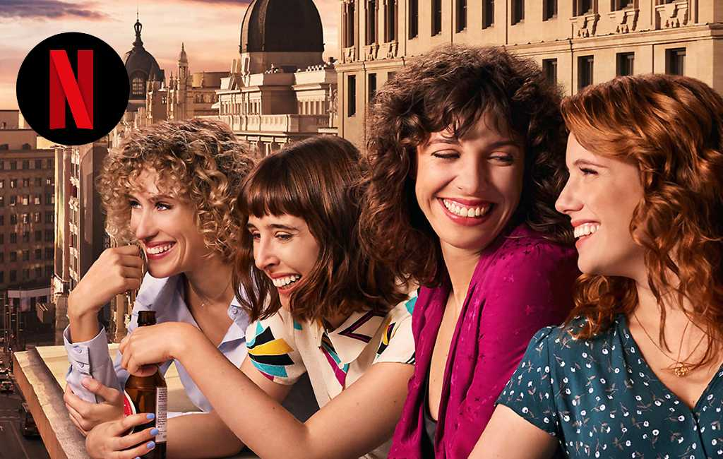 Spaanse serie 'Valeria' vanaf vrijdag op Netflix