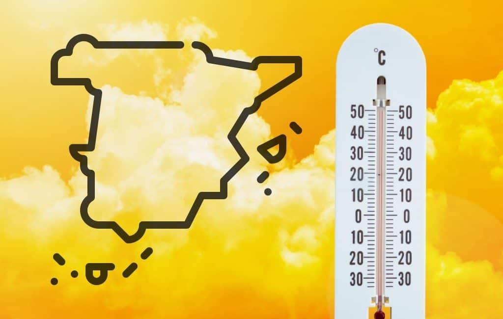 Mei begint met 'hittegolf' in Spanje met temperaturen tot 36 graden