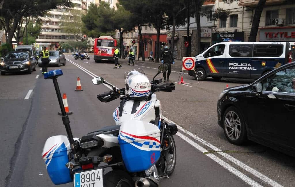 Zaragoza maakt deel centrum autovrij voor de wandelaars, fietsers en sporters