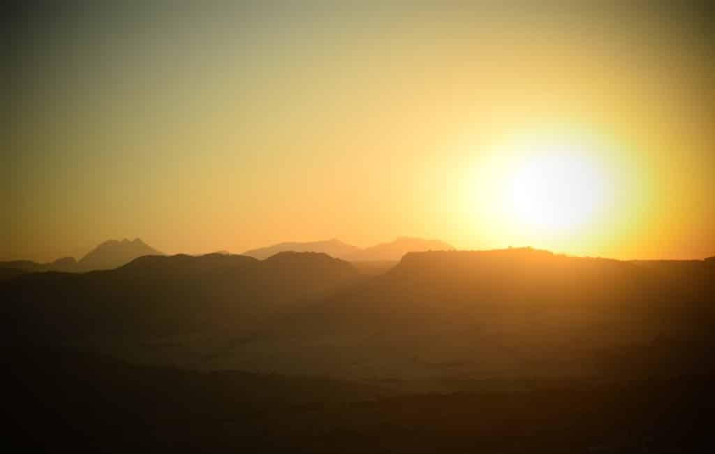 Voor het eerst minder dan 200 uur zon in Málaga