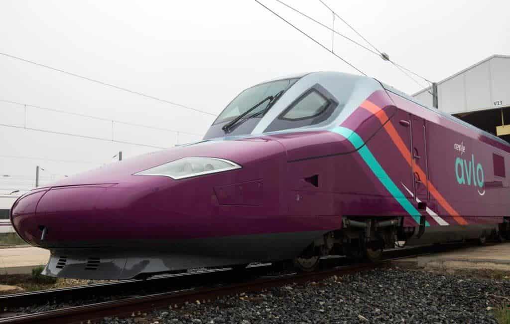 Voorlopig geen hogesnelheidstrein AVE low cost in Spanje