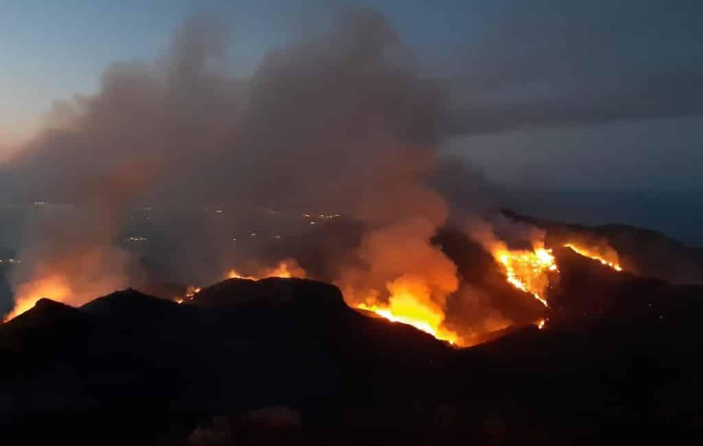 Natuur- en bosbrand Almería onder controle