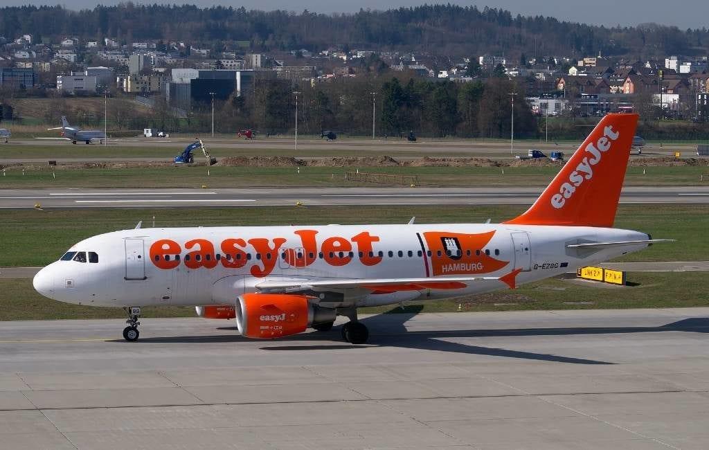 EasyJet begint 1 juli weer met vluchten naar Spanje