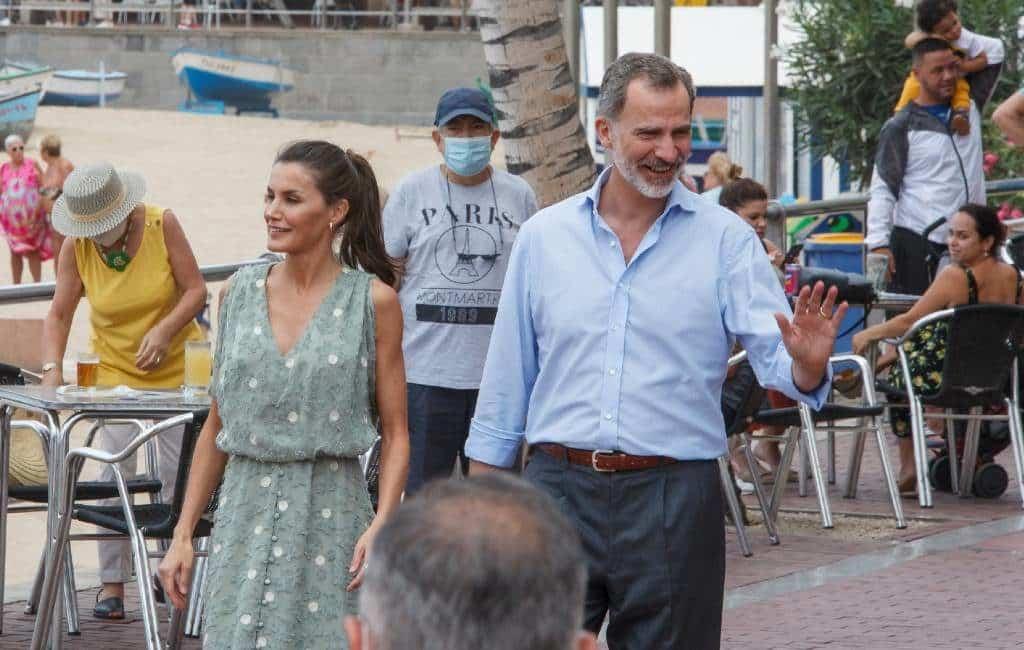 Spaans Koningspaar begint 'Spanje-tour' op de Canarische Eilanden