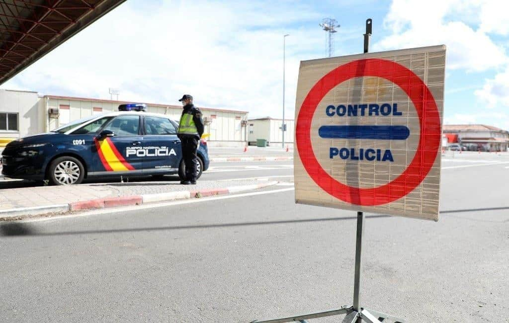 Officiële verlenging grenscontroles Spanje-Portugal tot 1 juli