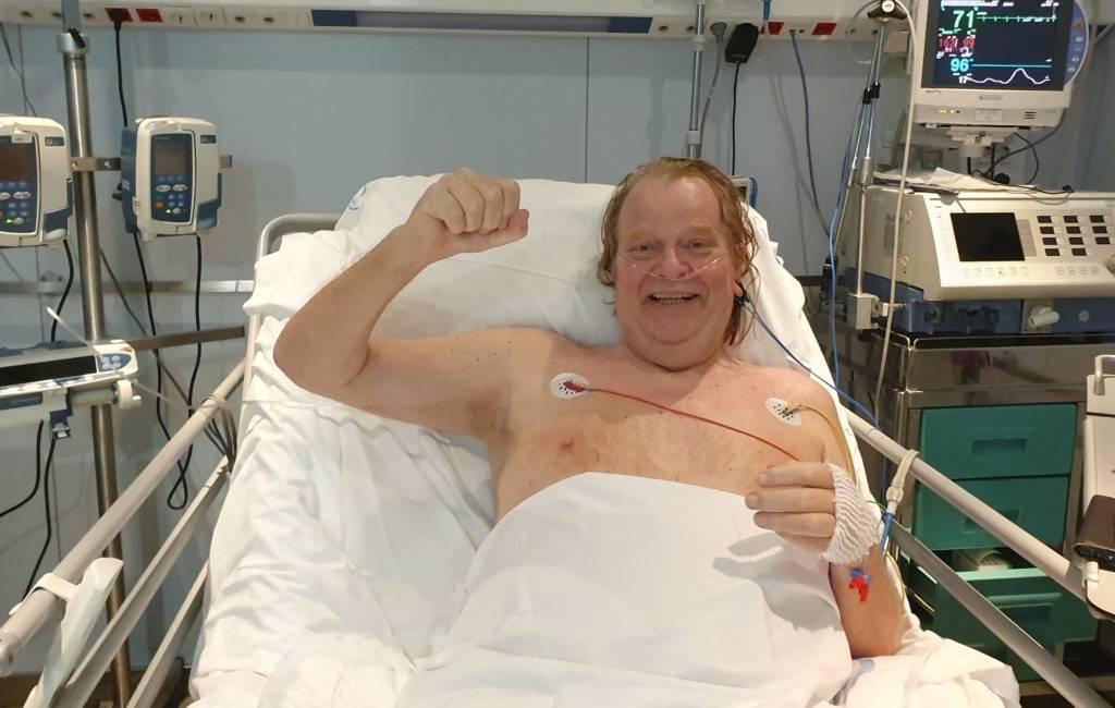 Nederlander Eric-Jan Harmsen na 83 dagen uit intensive care op Ibiza