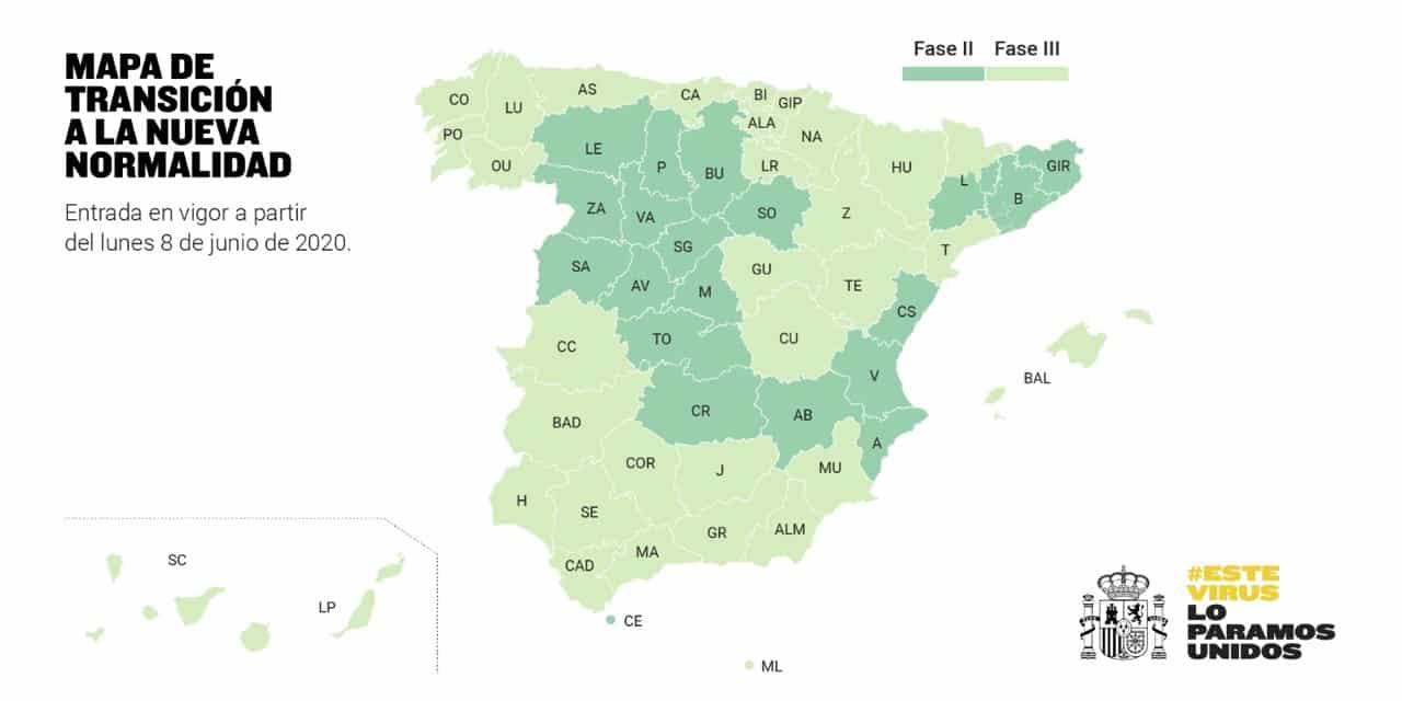 Welke regio's en provincies gaan naar de-escalatiefasen 2 of 3 op 8 juni