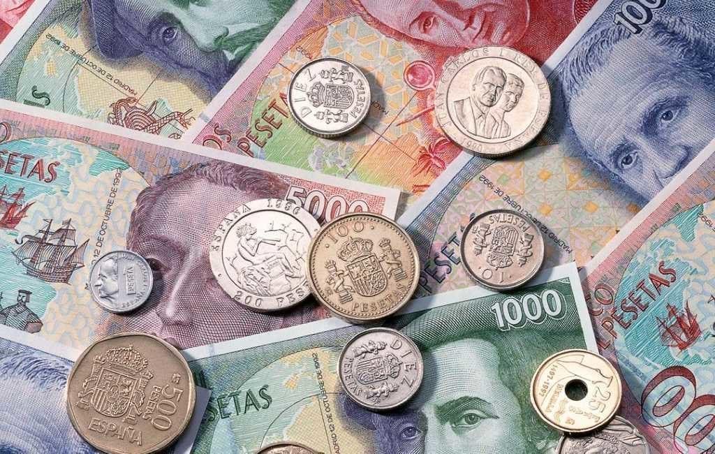 Nog 7 maanden de tijd om de Spaanse peseta's om te wisselen voor euro's