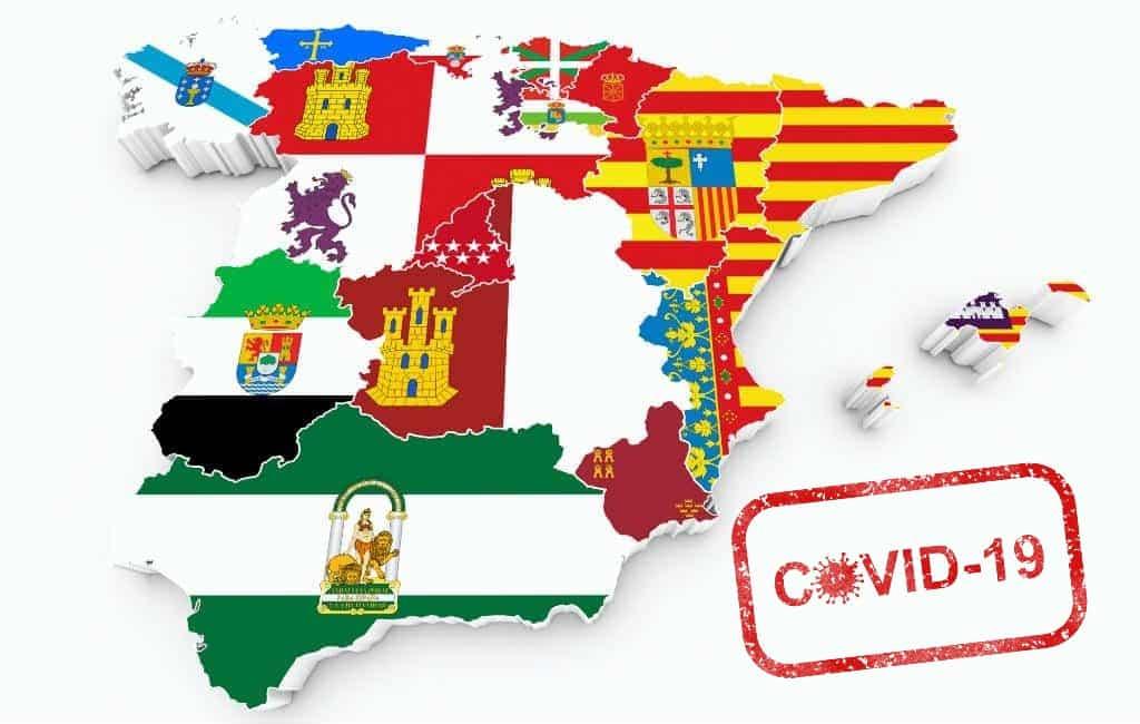 Reizen tussen provincies wel maar autonome regio's niet mogelijk in Fase 3
