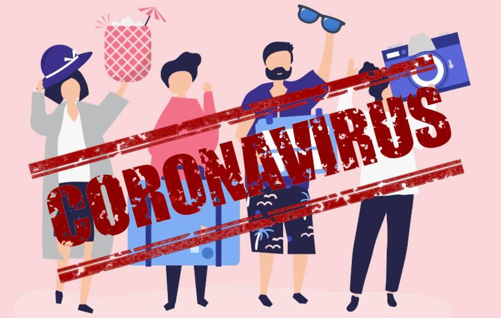 Geen buitenlandse toeristen in de maand april in Spanje