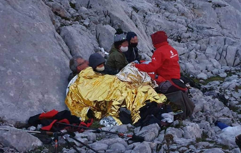 Verdwaalde Belgische familie gered in de Picos de Europa