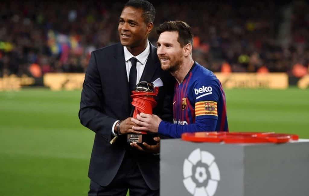 Kluivert is Messi's favoriet als nieuwe hoofdtrainer van FC Barcelona