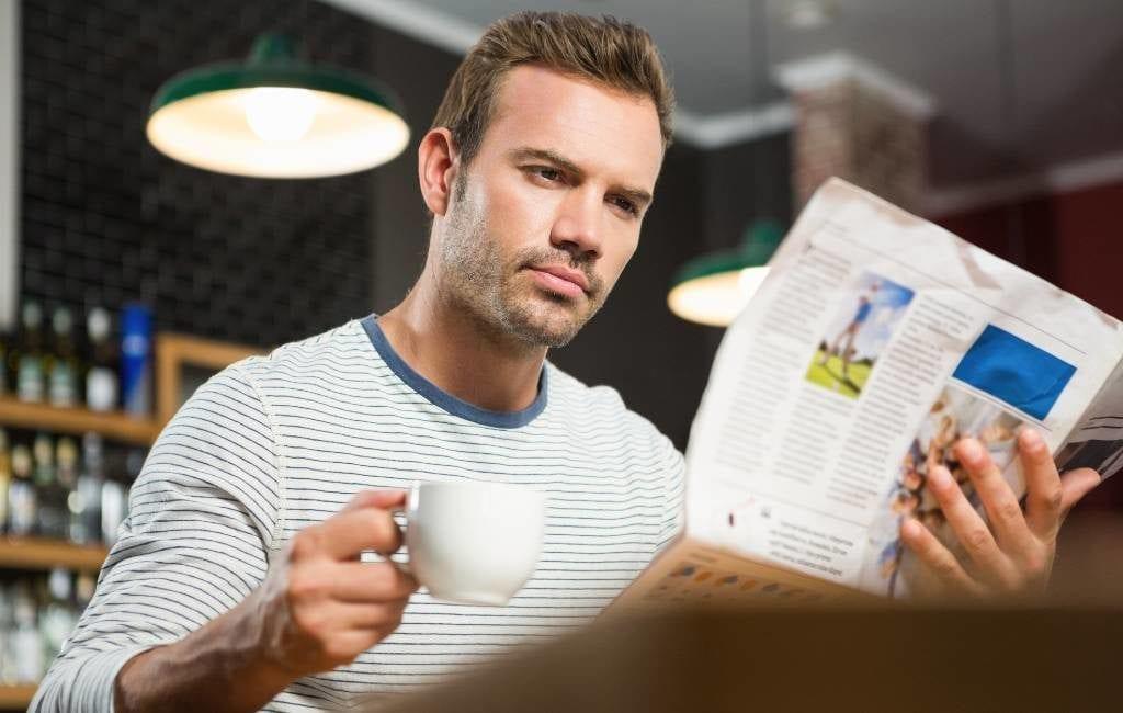 Hoe zit het met de krant lezen in een Spaanse bar en het coronavirus?
