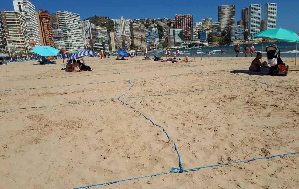 Wijzigingen in reserveringssysteem Levante strand in Benidorm