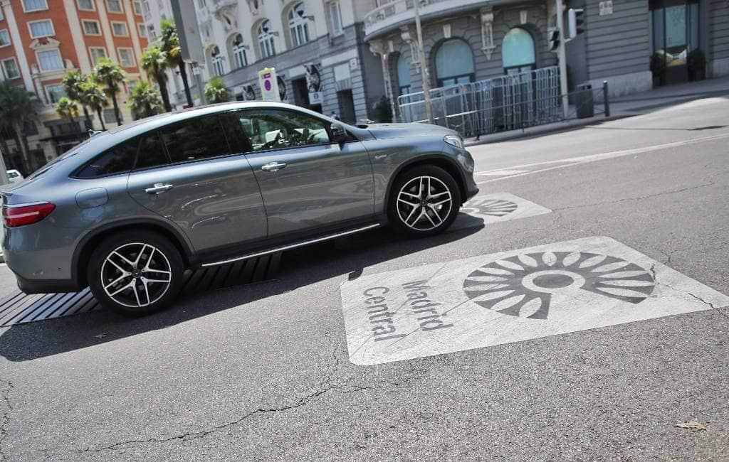 Rechters annuleren milieuproject Madrid Central