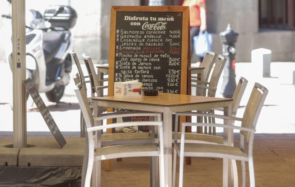Thuiswerken slecht voor restaurants en bars in Spanje