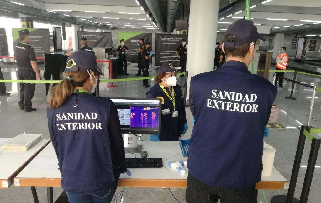 Digitaal gezondheidsformulier en smartphone app om Spanje binnen te komen