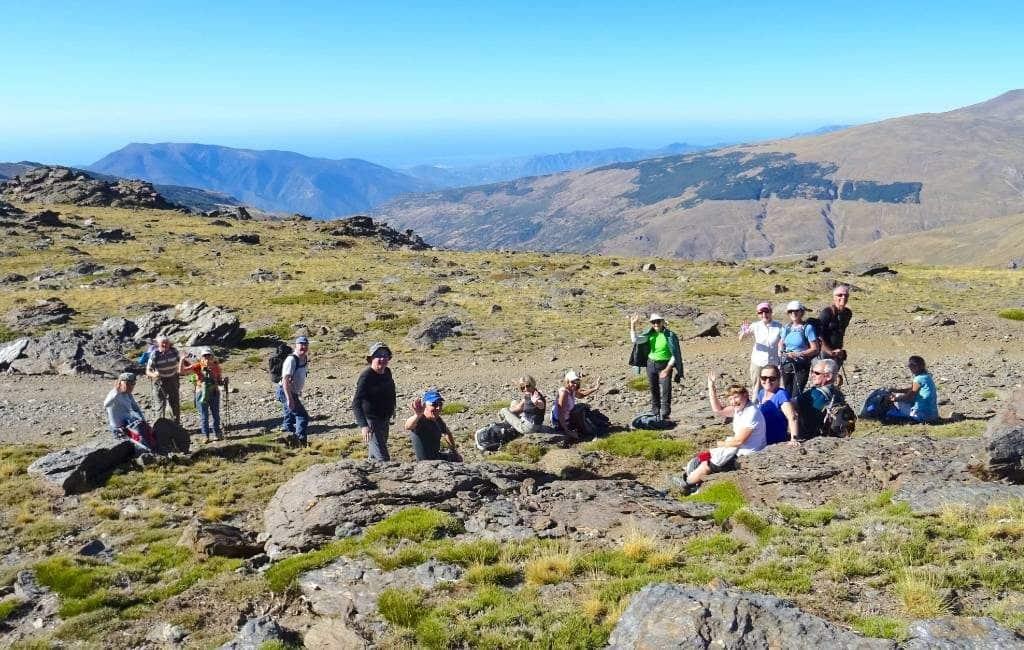 Ontsnappen aan de corona-gekte in de Sierra Nevada in Granada