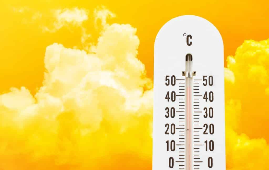 Hoogste temperatuur tot nu toe dit jaar 42 graden in Xàtiva (Valencia)
