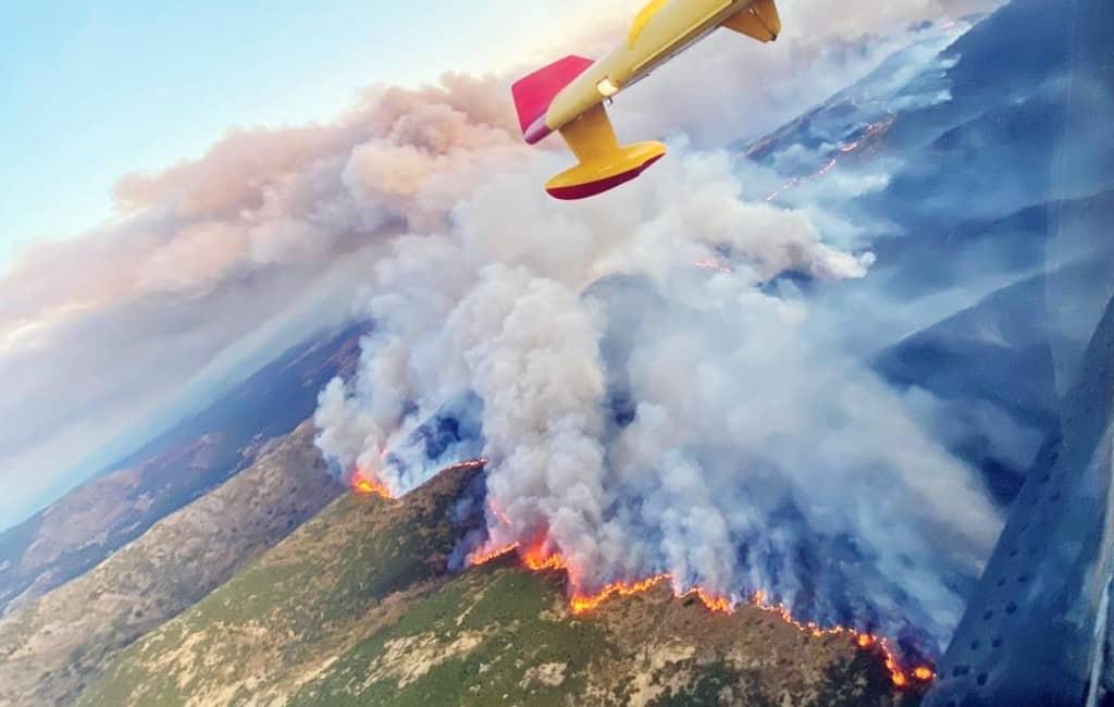 Grootste bosbrand dit jaar in Spanje: 10.000 ha en 2.400 evacuees in Huelva