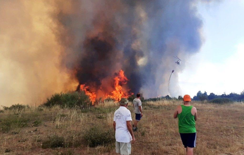 Bosbrand Galicië grootste sinds 2017