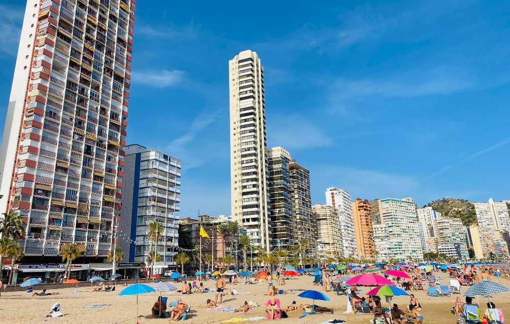 Minder dan 20% van de toeristen in Valencia regio is buitenlands