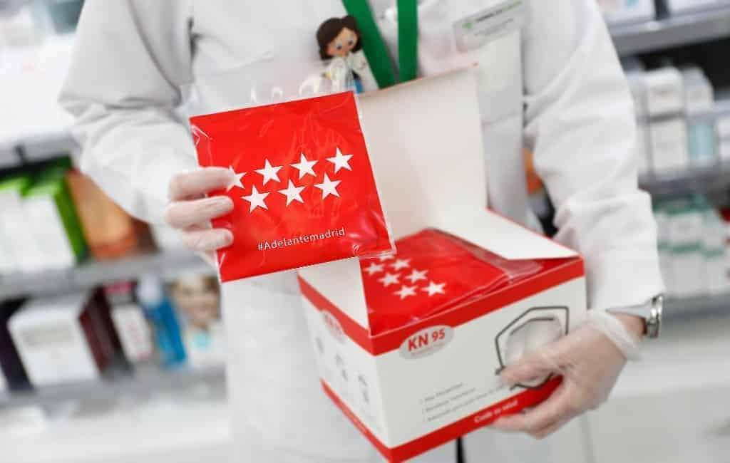 Een op de drie nieuwe corona-positieven wordt geregistreerd in Madrid