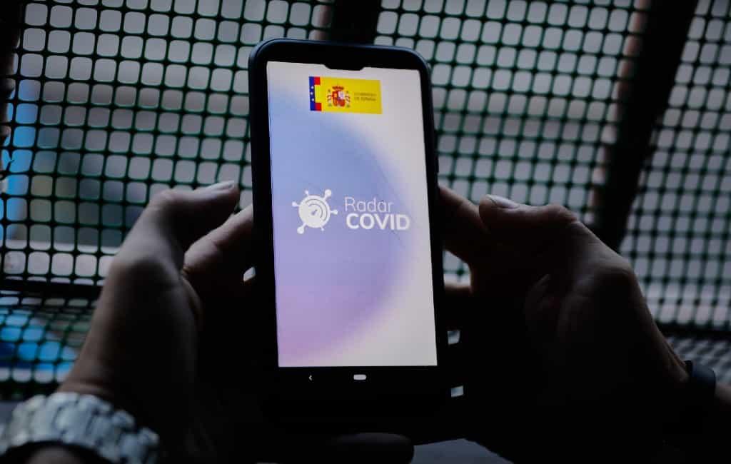Coronamelder app nu al in sommige regio's van Spanje te gebruiken