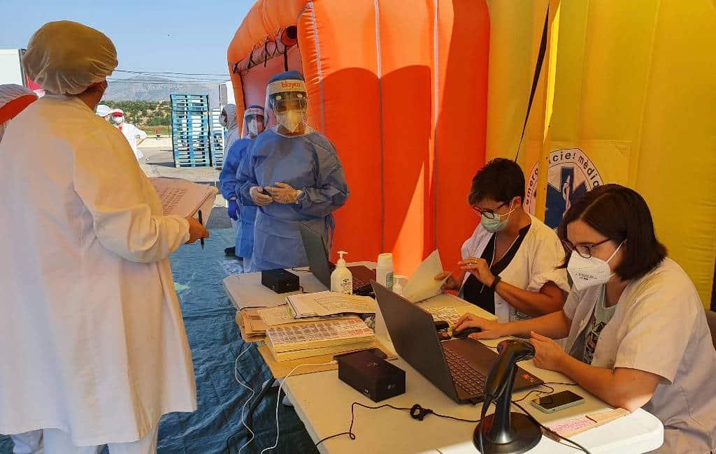 Catalonië begint met massale PCR-tests bevolking diverse steden