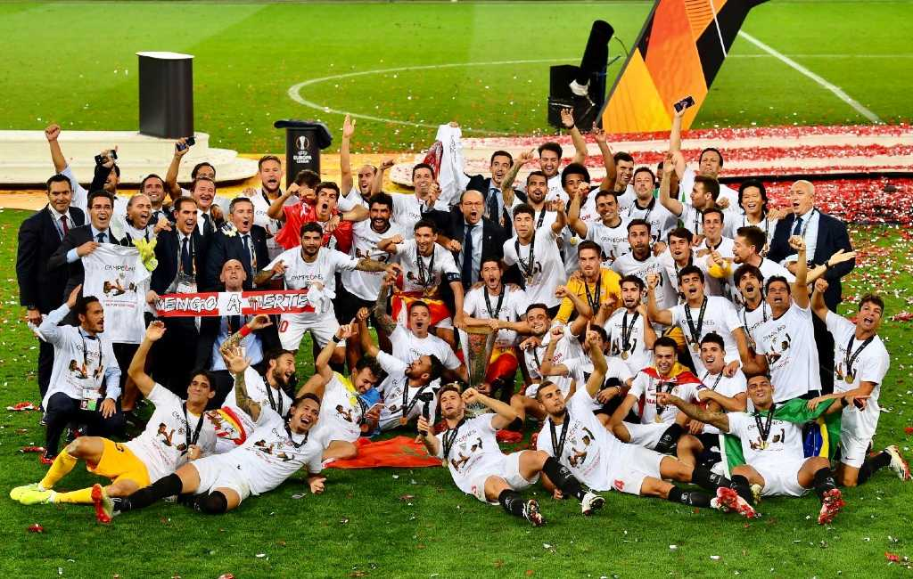 Sevilla wint voor zesde keer de Europa League met heldenrol voor de Jong