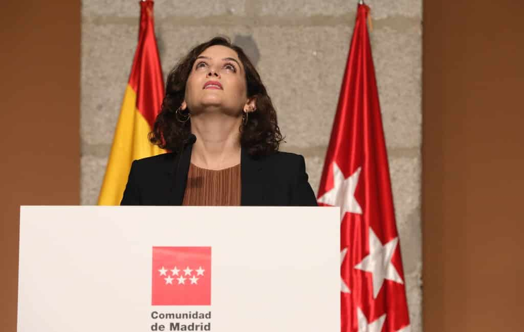 Madrid regio neemt maatregelen om verspreiding coronavirus te stoppen