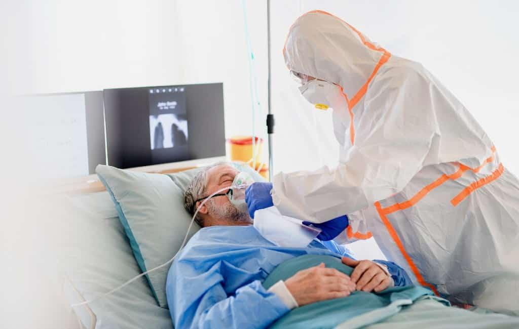 Recordaantal corona-ziekenhuisopnames in Spanje in 24 uur tijd